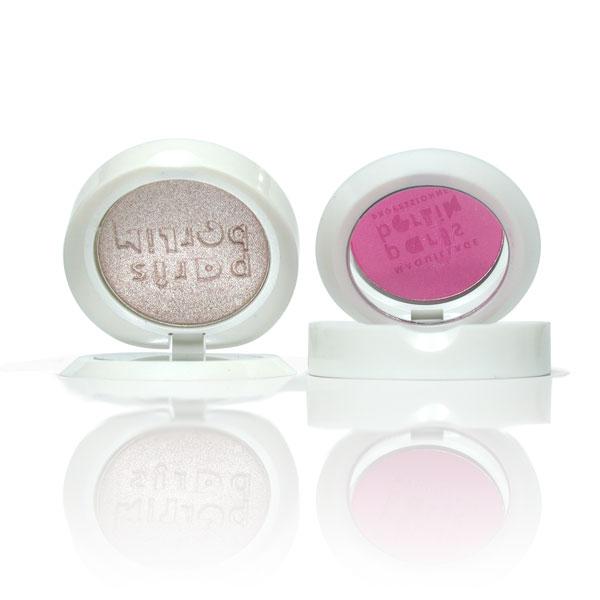 Sombra-colorete compacta, pigmento puro