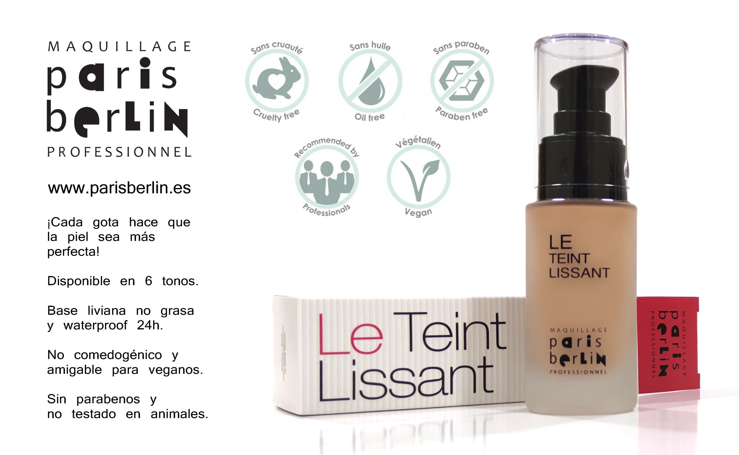 maquillaje Le teint Lissant
