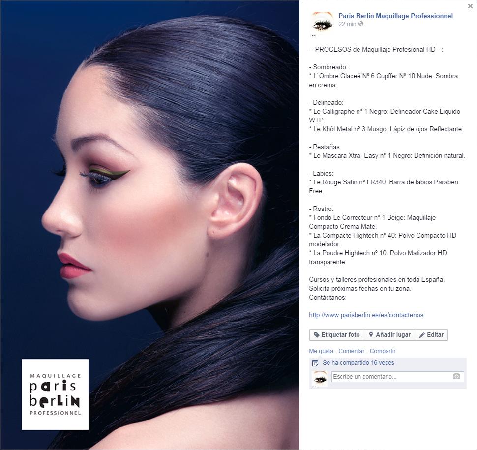 Procesos de Maquillaje Delineado
