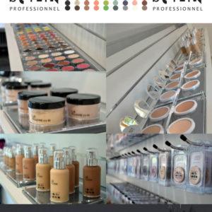 Expositores de sobremesa para maquillaje